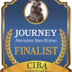 The FINALISTS Announcement for the JOURNEY Book Awards for Narrative Non-fiction - a division of the 2019 CIBAs
