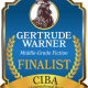 The FINALISTS Announcement for the GERTRUDE WARNER Book Awards for Middle-Grade Readers - a division of the 2019 CIBAs