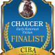 The FINALISTS Announcement for the CHAUCER Book Awards for Pre-1750s Historical Fiction - a division of the 2019 CIBAs