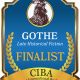 The FINALISTS Announcement for the GOETHE Book Awards for post-1750s Historical Fiction, a division of the 2019 CIBAs