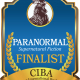 The FINALISTS for the PARANORMAL Book Awards for Supernatural Fiction - a division of the 2019 CIBAs