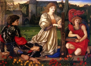 The Song of Love by Edward Burne-Jones