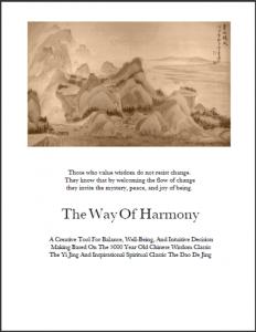 Way of Harmony