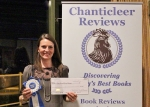 Rachel B.Ledge won the Grand Prize in the Clue Awards.