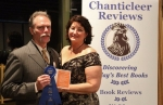 Tom and Nancy Wise accepted their First in Category Cygnus Award