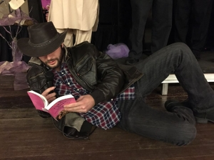 Timber Guy sexy reading contest