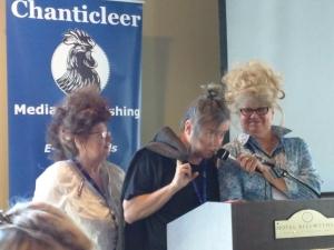 More authors volunteer for Big Hair: Sean Dwyer & Jacquie Rogers.