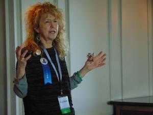 Pam Binder dialogued about....dialogue