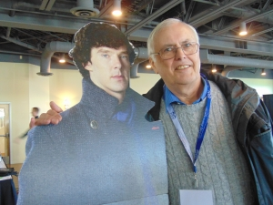Who is taller, Richard Mann or Sherlock?
