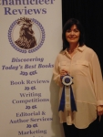 Wendy Delaney awarded Mystery & Mayhem Grand Prize for THERE'S SOMETHING ABOUT MARTY