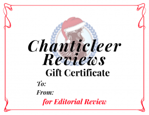 Chanticleer Gift Certificates